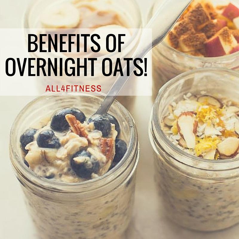 Benefits of overnight oats!